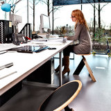 Wigli W1 actief zitten in office environment