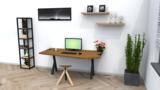 Combideal: Organic verstelbare werktabel + Wigli One_