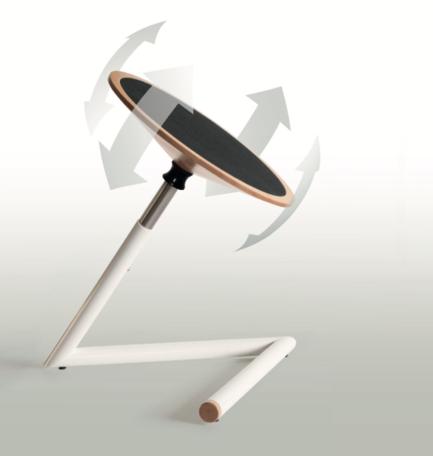 Just: In hoogte verstelbare wiebelkruk